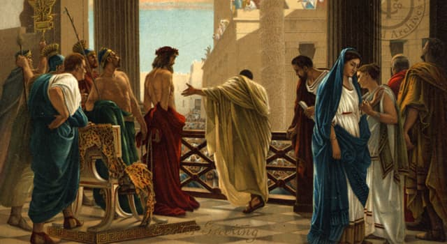 History Trivia Question: Pontius Pilate served as the Roman Governor of Judaea under which Emperor?