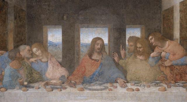 Культура Запитання-цікавинка: Скільки апостолів зображено навколо Христа на картині Леонардо да Вінчі «Таємна вечеря»?