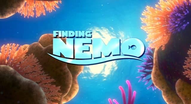 """Фільми та серіали Запитання-цікавинка: У анімаційний фільм """"У пошуках Немо"""", до якого роду морських риб належить Немо?"""