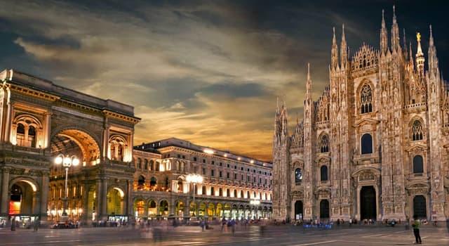 Географія Запитання-цікавинка: В якій країні знаходиться місто Мілан?