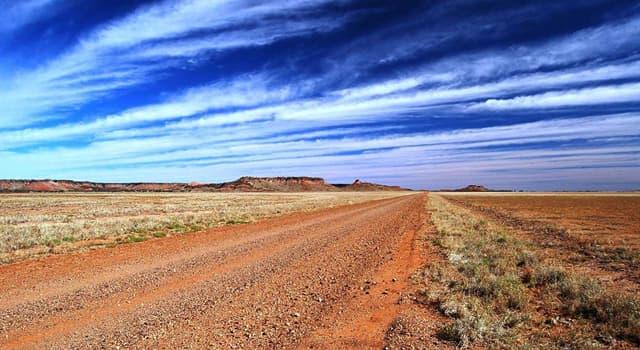 Географія Запитання-цікавинка: В якій країні знаходиться пустеля Гібсона?
