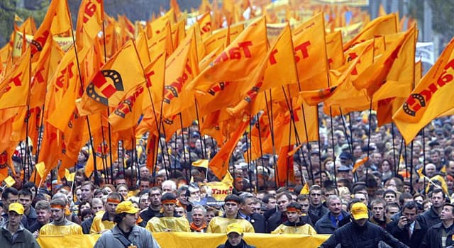 Суспільство Запитання-цікавинка: В якій країні відбулася «Помаранчева революція» між 2004 і 2005 роками?