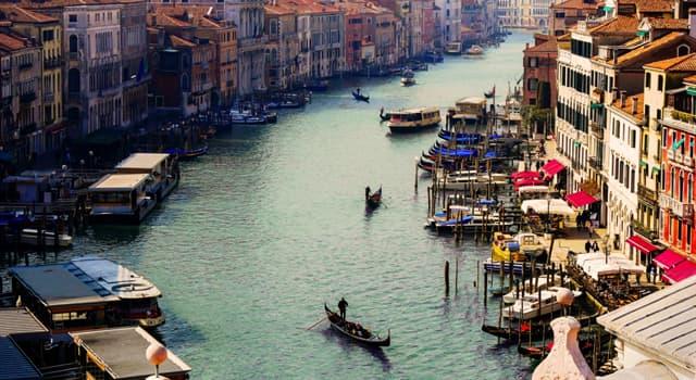 Географія Запитання-цікавинка: В якому місті знаходиться Гранд-канал?