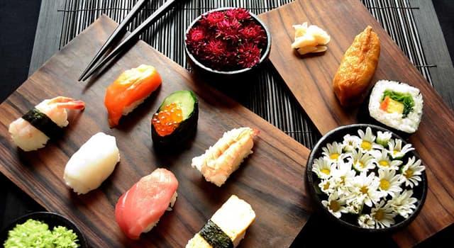 Культура Запитання-цікавинка: В японській кухні, що таке сашимі?