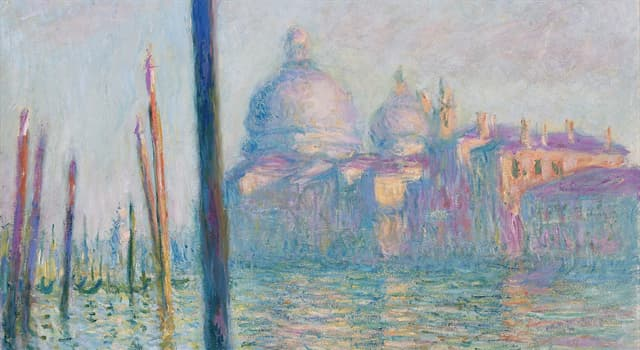 """Kultur Wissensfrage: Von welchem Künstler stammt das 2015 für über 35 Millionen Dollar verkaufte Werk """"Le Grand Canal""""?"""