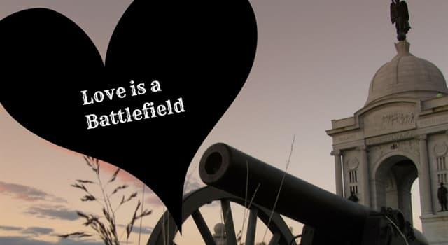 """Kultur Wissensfrage: Von wem wurde das Lied """"Love Is a Battlefield"""" 1983 veröffentlicht?"""