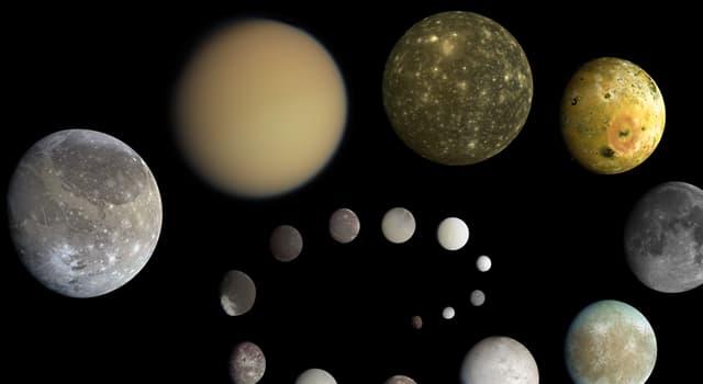 nauka Pytanie-Ciekawostka: W 2018, która z planet miała najwięcej księżyców?