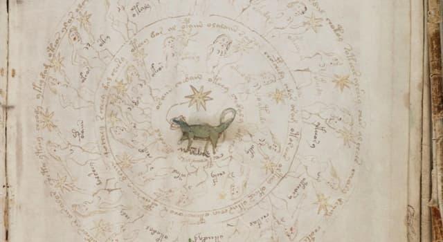 Kultura Pytanie-Ciekawostka: W jakim języku napisany został Manuskrypt Wojnicza?