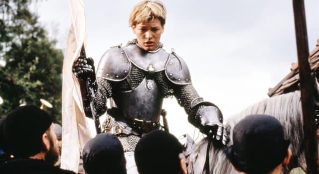 historia Pytanie-Ciekawostka: W której bitwie wojny stuletniej odegrała znaczącą rolę Joanna d'Arc?