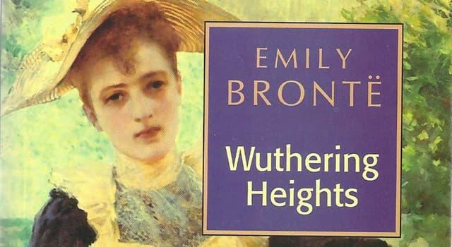 """Kultura Pytanie-Ciekawostka: W której części Anglii odbywa się akcja powieści """"Wichrowe Wzgórza"""" Emily Brontë?"""