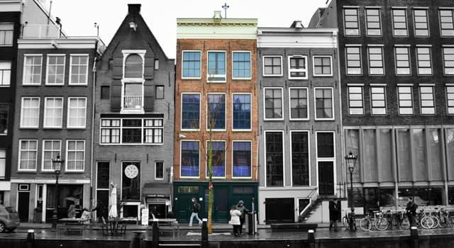 historia Pytanie-Ciekawostka: W którym europejskim mieście znajduje się muzeum o nazwie Dom Anny Frank?