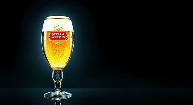 """Kultura Pytanie-Ciekawostka: W którym kraju produkuje się napój """"Stella Artois""""?"""