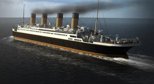 historia Pytanie-Ciekawostka: W którym oceanie zatonął Titanic?