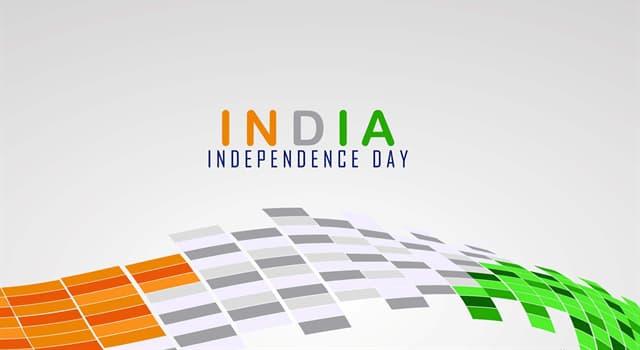 historia Pytanie-Ciekawostka: W którym roku Indie uzyskały niepodległość?