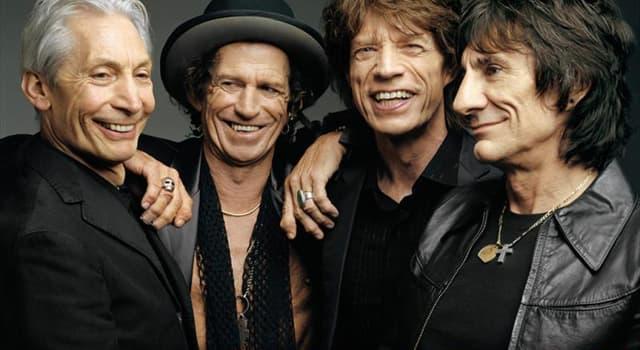 Kultura Pytanie-Ciekawostka: W którym roku został założony zespół The Rolling Stones?