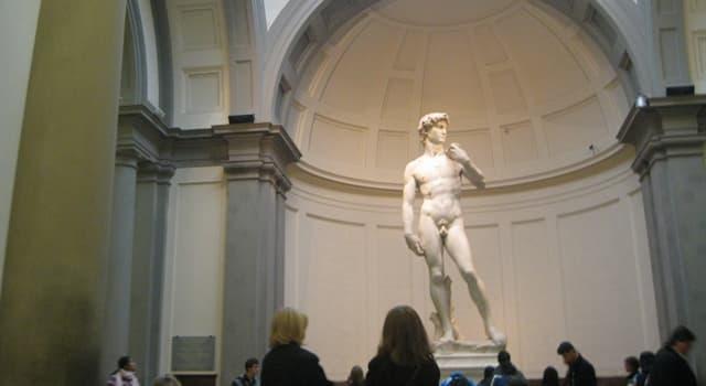 Kultura Pytanie-Ciekawostka: W którym włoskim mieści znajdziemy rzeźbę Michała Anioła przedstawiająca Dawida?