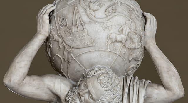 Kultura Pytanie-Ciekawostka: W mitologii greckiej, którego Tytana skazano na wieczne utrzymanie niebiańskich niebios?