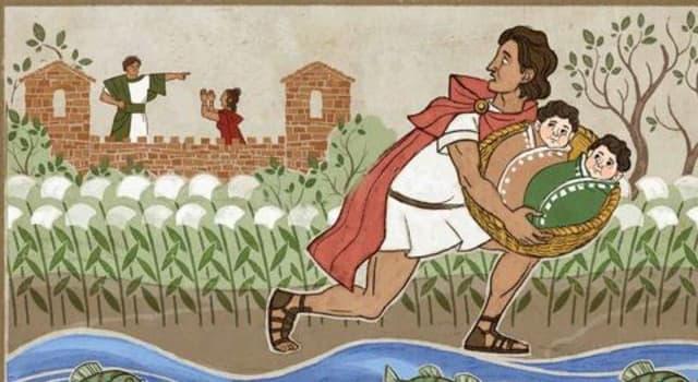 Kultura Pytanie-Ciekawostka: W mitologii, które zwierzę wychowało Romulusa i Remusa?