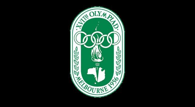 sport Pytanie-Ciekawostka: W proteście przeciw czemu Irak, Egipt i Liban zbojkotowały Igrzyska Olimpijskie w 1956 w Melbourne?