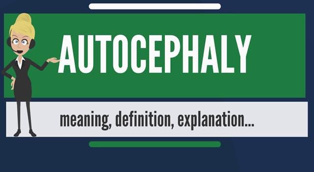 """Kultur Wissensfrage: Was bezeichnet man mit dem Begriff """"Autokephalie""""?"""