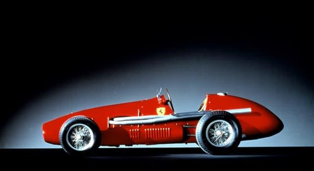 Kultur Wissensfrage: Was ist der Ursprung des Ferrari-Logos?