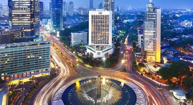 Geographie Wissensfrage: Was ist die Hauptstadt von Indonesien?