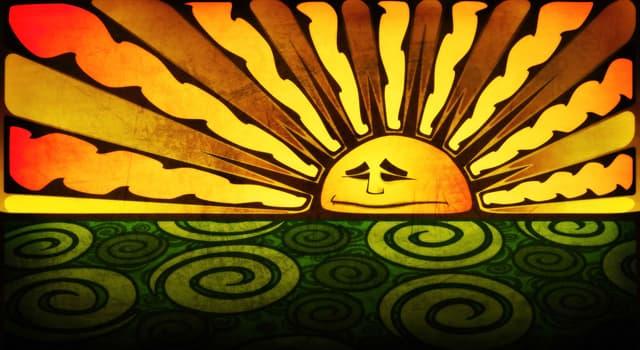 Wissenschaft Wissensfrage: Welche ist die wahre Farbe der Sonne?