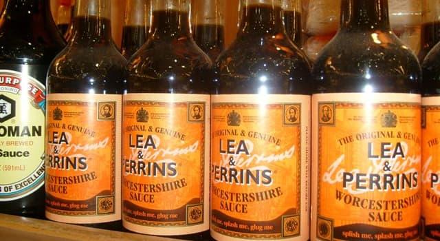 Kultur Wissensfrage: Was ist ungewöhnlich an der Art und Weise, wie Worcestershire-Sauce in den USA verpackt wird?