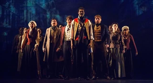 """Kultur Wissensfrage: Was passiert laut den Texten des Musicals Les Miserables, """"am Ende vom Tag""""?"""