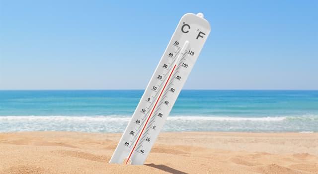 Natur Wissensfrage: Was war (Stand 2019) der heißeste Monat in der Geschichte?