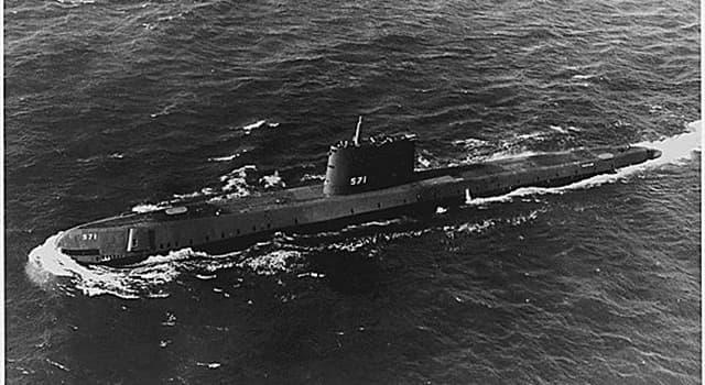 Wissenschaft Wissensfrage: Was war das erste atombetriebene U-Boot?
