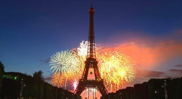 Kultura Pytanie-Ciekawostka: We Francji Dzień Bastylii obchodzony jest 14tego dnia którego miesiąca?