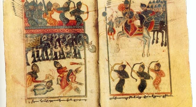 """Geschichte Wissensfrage: Welche Armeen kämpften in der """"Schlacht von Avarayr""""?"""