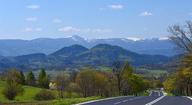 Geographie Wissensfrage: Welche Berge trennen Polen von der Tschechischen Republik?