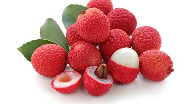 Natur Wissensfrage: Welche Frucht ist auf dem Foto dargestellt?