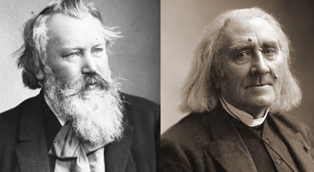 Kultur Wissensfrage: Welche Nationalitäten hatten die berühmten Komponisten Brahms und Liszt?