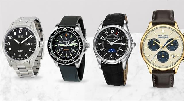 """Gesellschaft Wissensfrage: Welcher bekannte Schweizer Uhrmacher produziert die """"Oyster""""-Uhr?"""