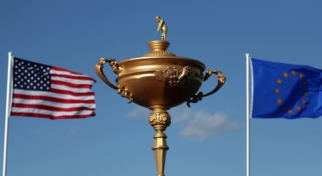 Sport Wissensfrage: Welcher Golfer gewann die meisten Punkte in der Geschichte des Ryder Cup?