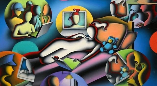 Gesellschaft Wissensfrage: Welcher renommierte Künstler des 20. Jahrhunderts schuf dieses Werk?