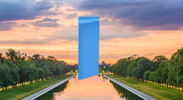 Gesellschaft Wissensfrage: Welches berühmte US-Denkmal ist in diesem Bild versteckt?