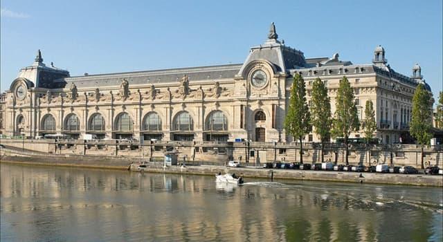 Kultur Wissensfrage: Welches Gebäude war ursprünglich das Musée d'Orsay in Paris?