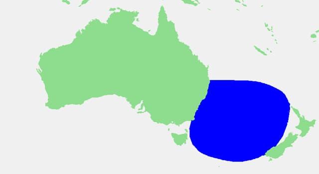 Geographie Wissensfrage: Welches Meer trennt Australien und Neuseeland?
