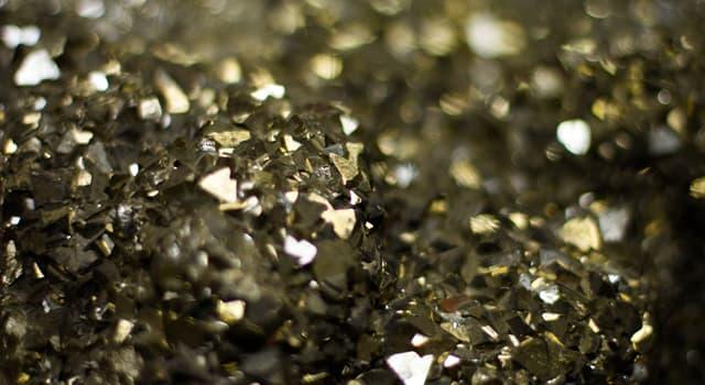 Geschichte Wissensfrage: Welches Mineral wird wegen seiner Ähnlichkeit mit Gold als Narrengold bezeichnet?