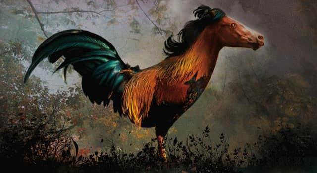 Kultur Wissensfrage: Welches mythische Wesen ist auf dem Bild dargestellt?