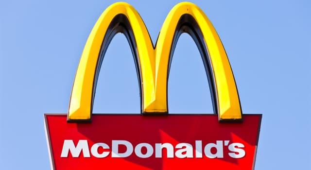 Geschichte Wissensfrage: Welches Produkt führte McDonald's zunächst 1981 auf ausgewählten Märkten und 1983 Landesweit ein?
