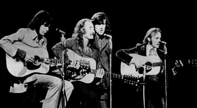 """Kultur Wissensfrage: Wem aus dem Crosby, Stills, Nash & Young """"Quartett"""" wird das Long May You Run Album zugeschrieben?"""