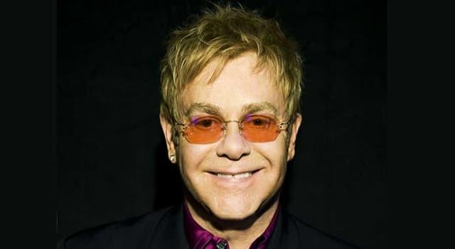 """Kultur Wissensfrage: Wer hatte in dem Song """"Crocodile Rock"""" von Elton John, """"so viel Spaß""""?"""