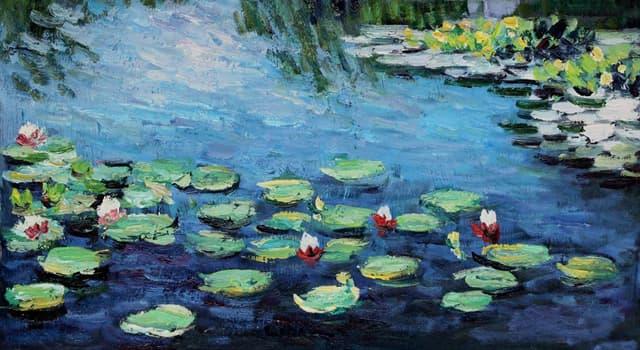 """Kultur Wissensfrage: Wer ist der Maler der Reihe von Ölgemälden """"Seerosen""""?"""