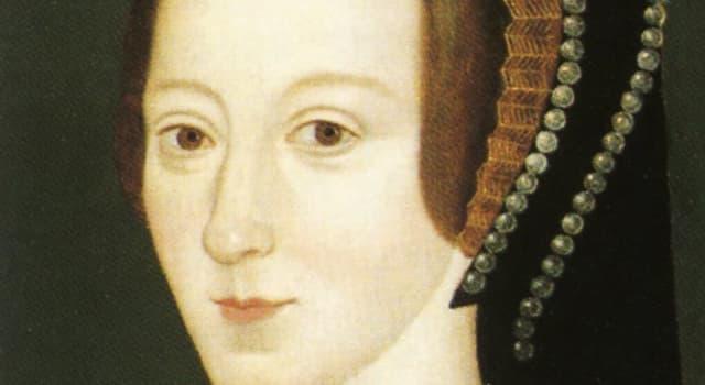 Geschichte Wissensfrage: Wer war die Tochter von Anne Boleyn?