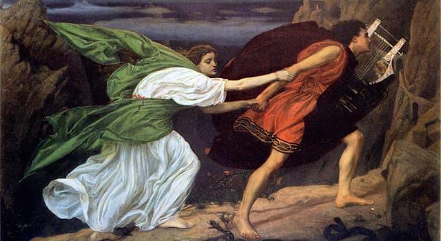 Kultur Wissensfrage: Wer war ein berühmter Sänger und Dichter der griechischen Mythologie?